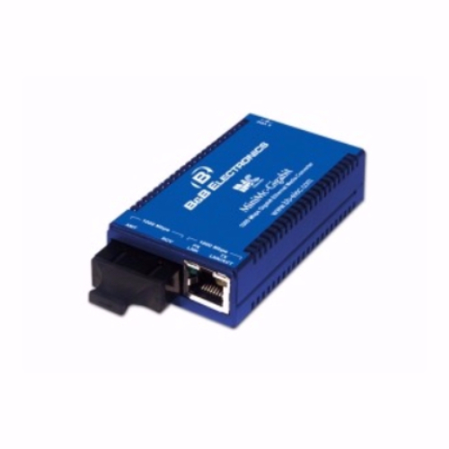 MiniMc-Gigabit, TX/SSBX-SM1310-SC (1310xmt/1490rcv - includes AC power adapter) 855-10742